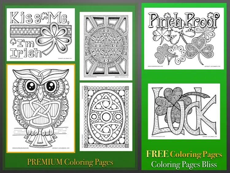 St Patrick\u0027s Day Coloring Pages