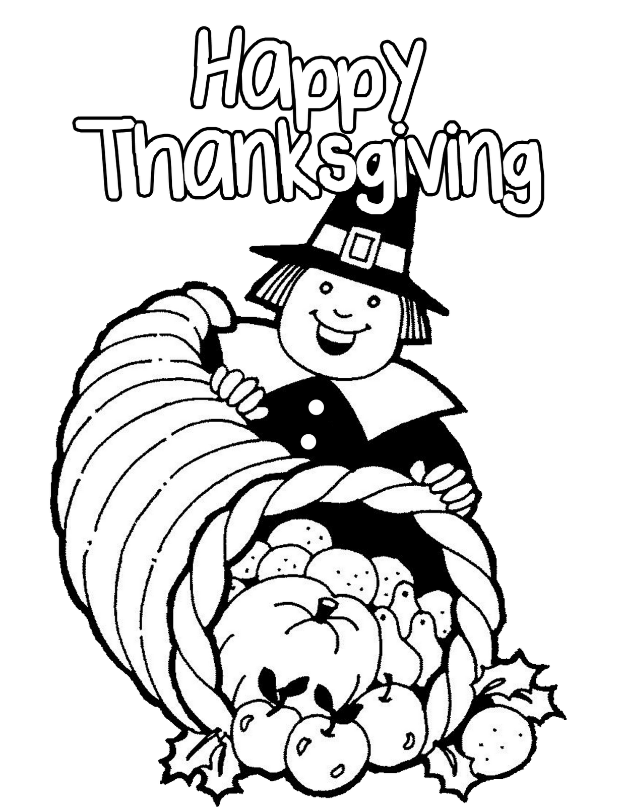 Disney coloring pages thanksgiving -  Printable Thanksgiving Coloring Pages Download