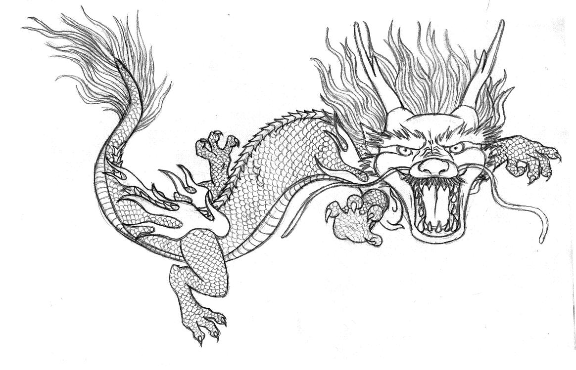 √ Free coloring pages of chinese dragons