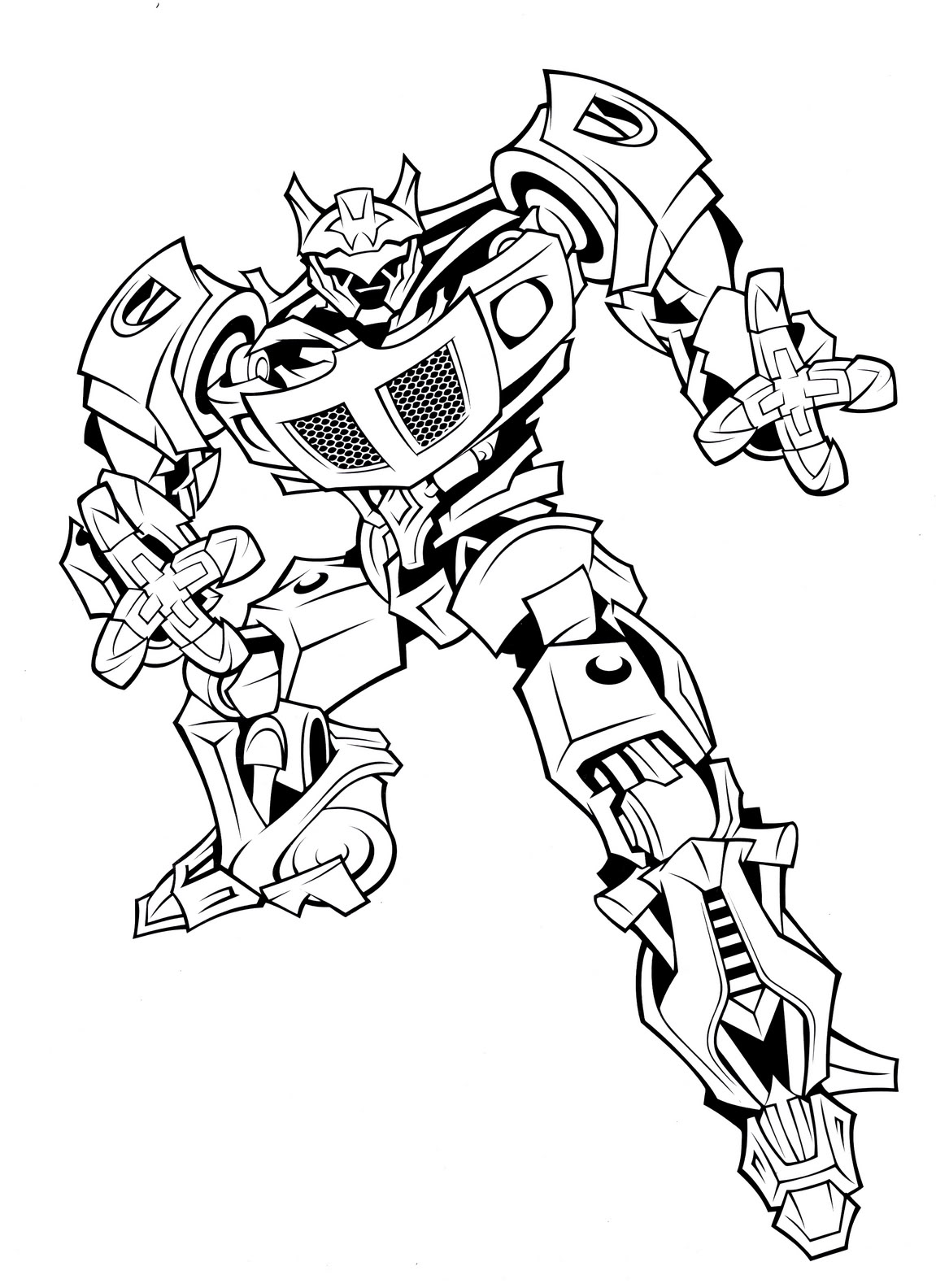 Printable coloring pages transformers - Free Printable Transformers Coloring Pages Download