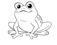 √ Coloring Picture Of A Frog Coloring Page Of A Frog Funny