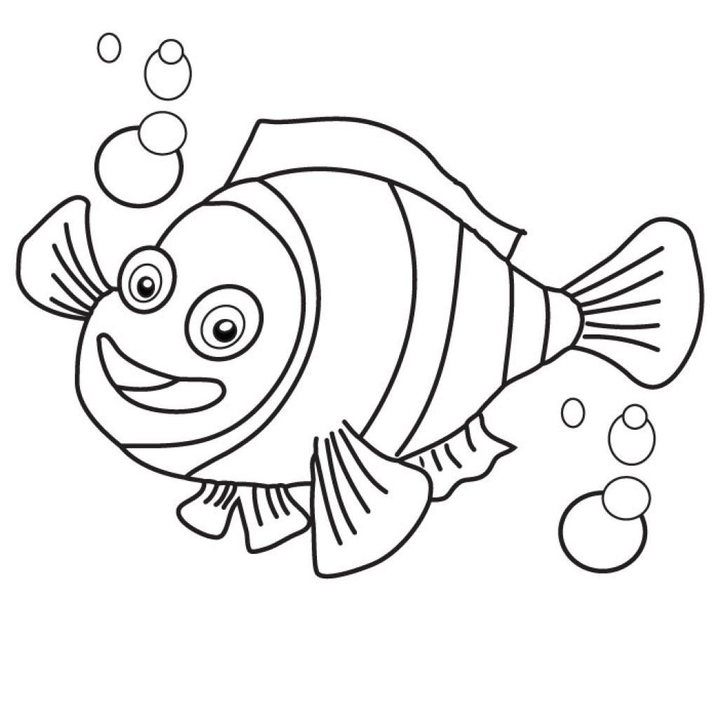 Nemo Printable Coloring Pages - Eskayalitim