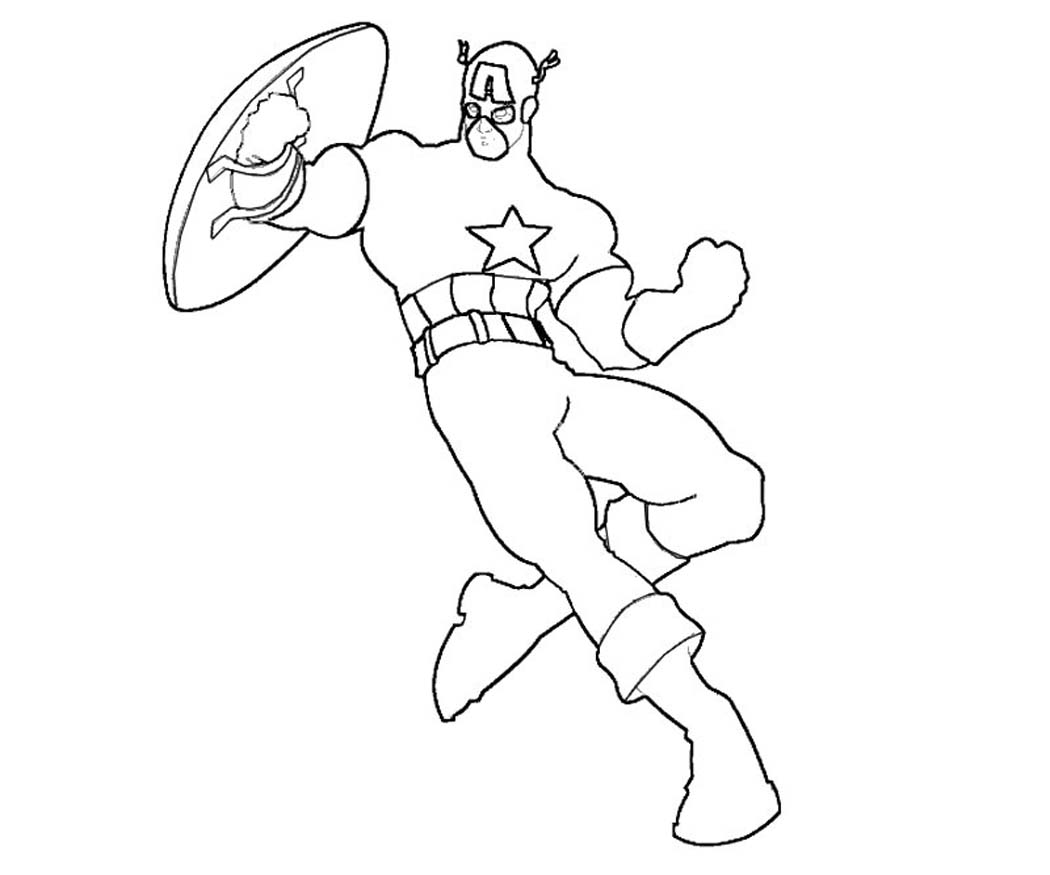 America Coloring Pages - Costumepartyrun