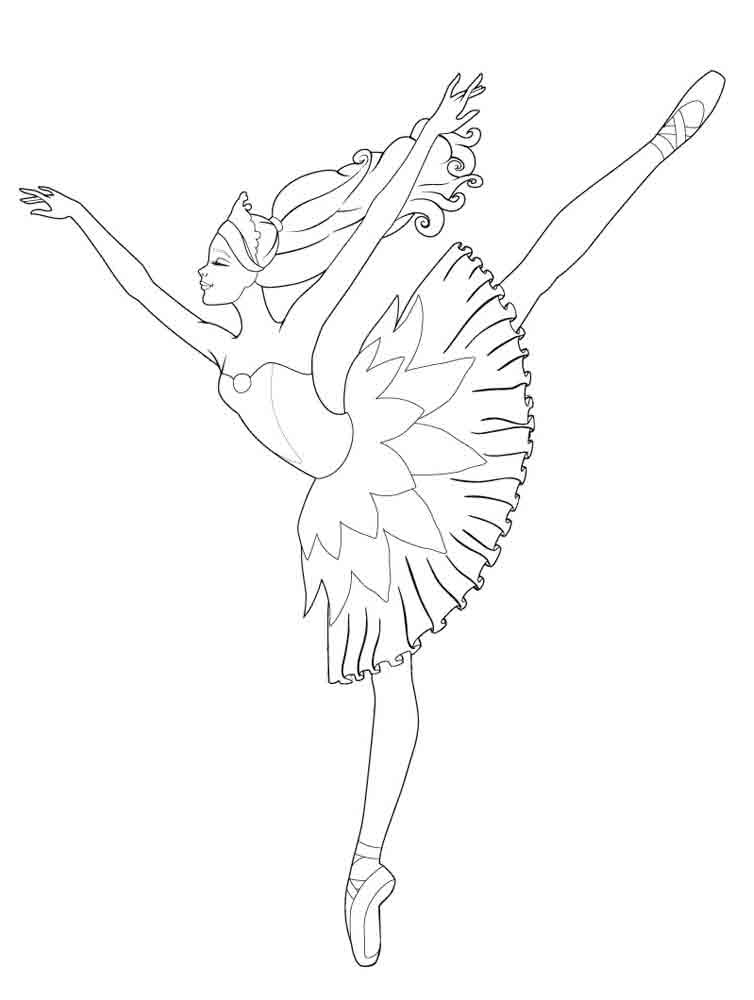 Awesome Ballerina Coloring Pages Kids Images - New Coloring Pages