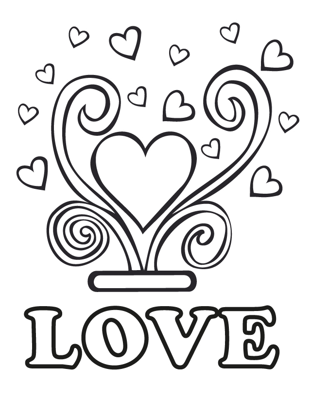 free kid coloring pages - Printable Coloring Book Pages 2