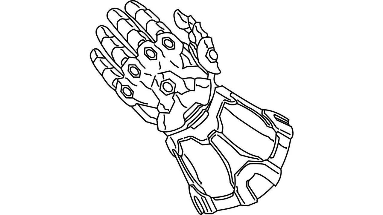 Infinity War Coloring Pages Arendastroy