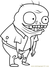 Imp Coloring Page - Free Plants vs. Zombies Coloring Pages ...