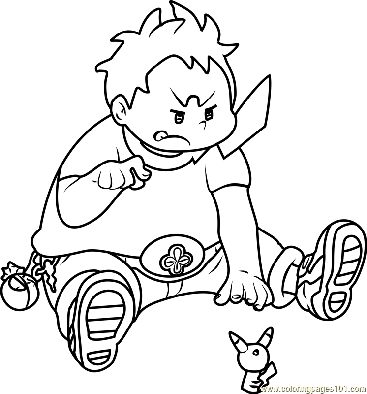 rockruff coloring pages free