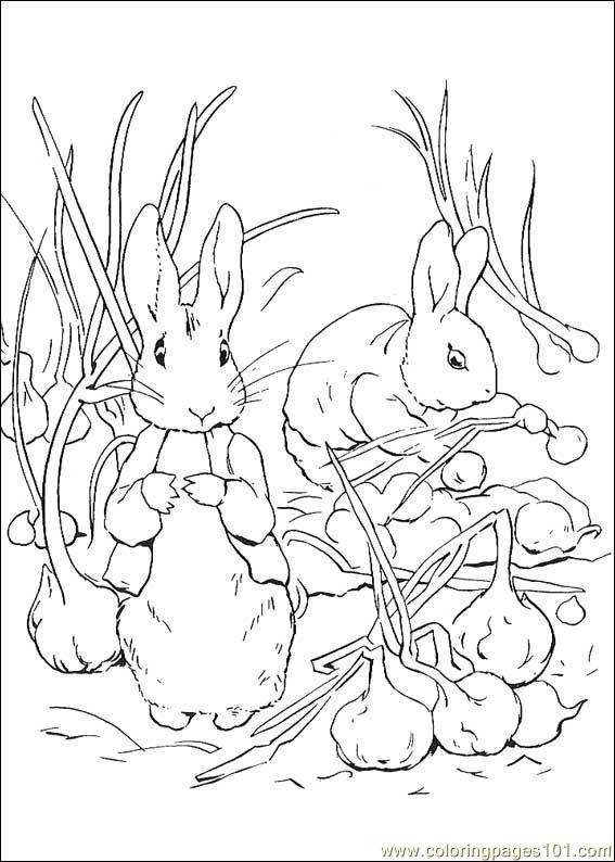 Peter Rabbit coloring picture Needlework CREATURES Pinterest - best of bunny rabbit coloring pages print