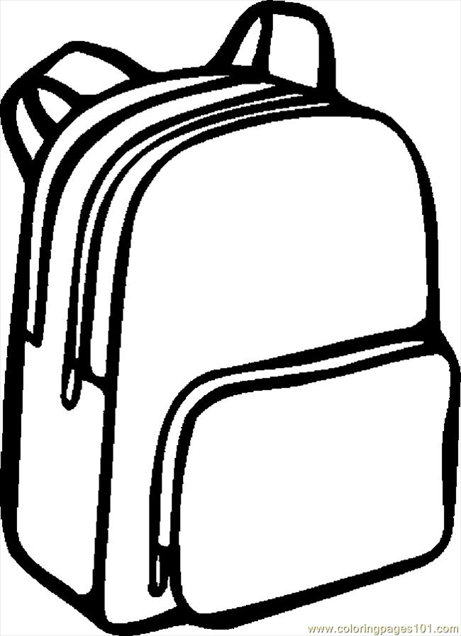 Backpack clipart 5 Planning and Printables Pinterest Outlines - copy make your own coloring pages online