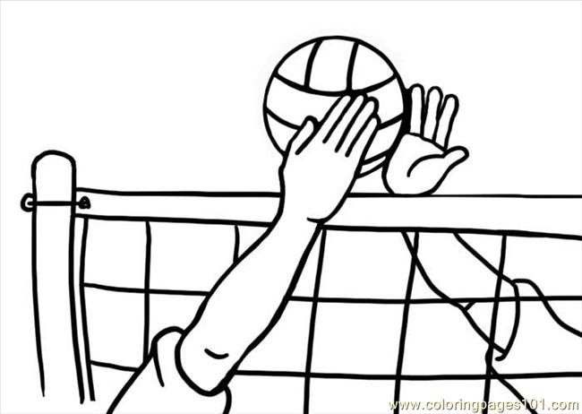 volleyball1 coloring page auto electrical wiring diagramvolleyball1 coloring page