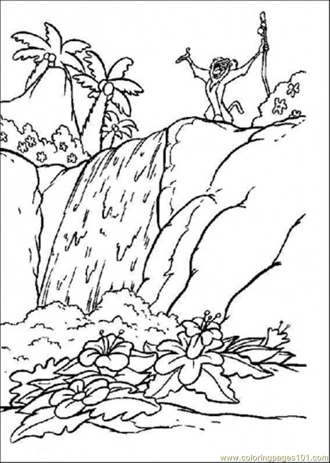 I In The Forest Coloring Page Coloring Page - Free Forest Coloring