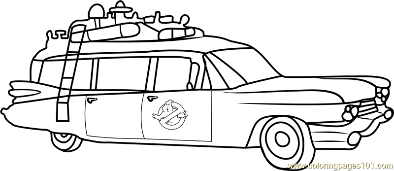 Ghostbusters Coloring Pages Eskayalitim