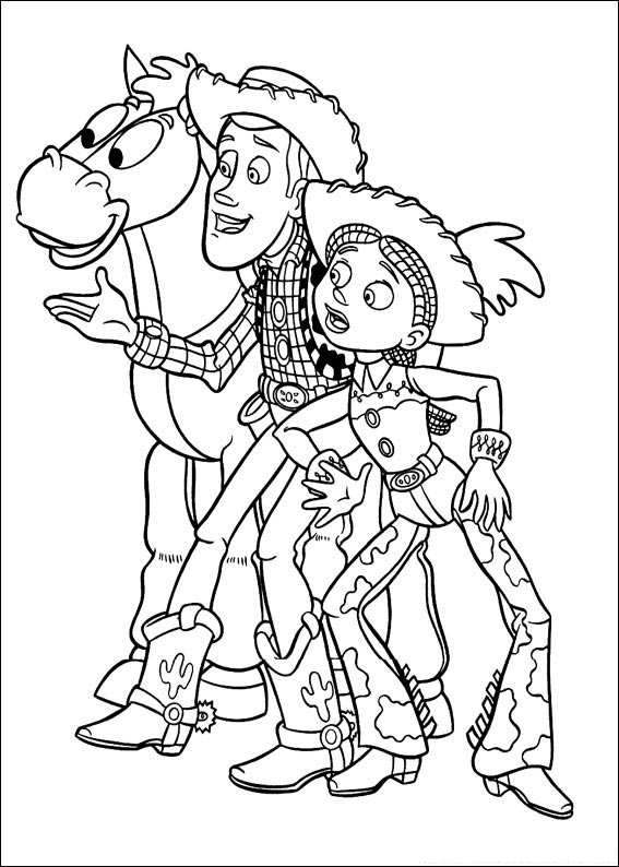Coloring Book~Daisyu0027s Coloring Book - Bonnie Jones - Picasa - new coloring book pages toy story