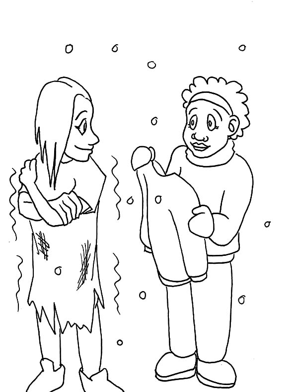√ Coloring Page Helping The Homeless Pagesrhencoloringclayhouseorg: Coloring Pages Homeless At Baymontmadison.com