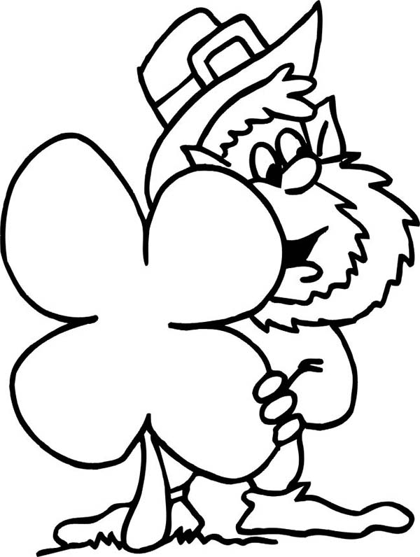 complete the leprechaun coloring page auto electrical wiring diagramst patricks day leprechaun and four