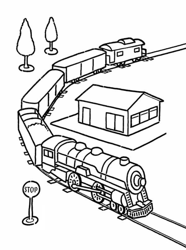 model train ledningsdiagram