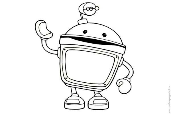 Team Umizoomi Bot Coloring Pages - Auto Electrical Wiring Diagram