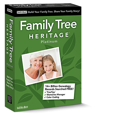 Family Tree Heritage Platinum Online Shopping, Price, Free Trial - build family tree online