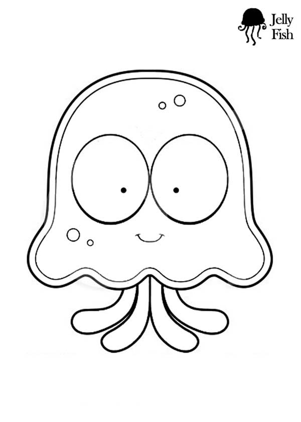 Letter J Is For Jellyfish Coloring Page Pages