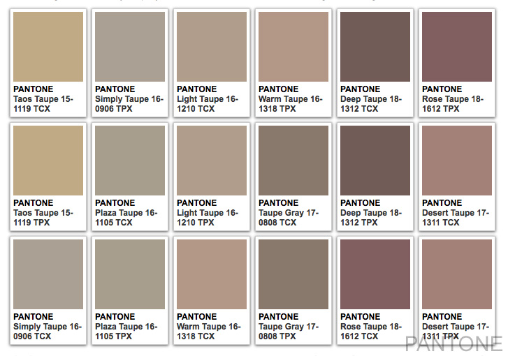 Taupe Color - What Color Is Taupe?