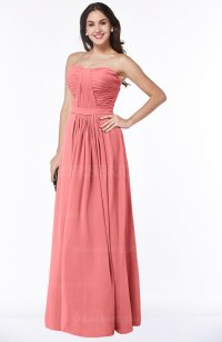 ColsBM Leslie Shell Pink Bridesmaid Dresses - ColorsBridesmaid