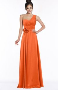 Bridesmaids Tangerine color -colorsbridesmaid.com