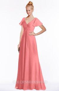 ColsBM Ellen Shell Pink Bridesmaid Dresses - ColorsBridesmaid