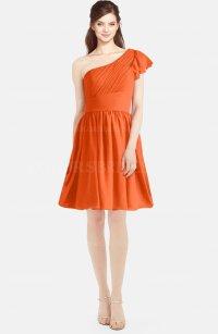 ColsBM Lynn Tangerine Bridesmaid Dresses - ColorsBridesmaid