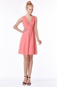 ColsBM Rivka Shell Pink Bridesmaid Dresses - ColorsBridesmaid