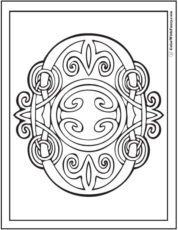 celtic irish patterns and knots