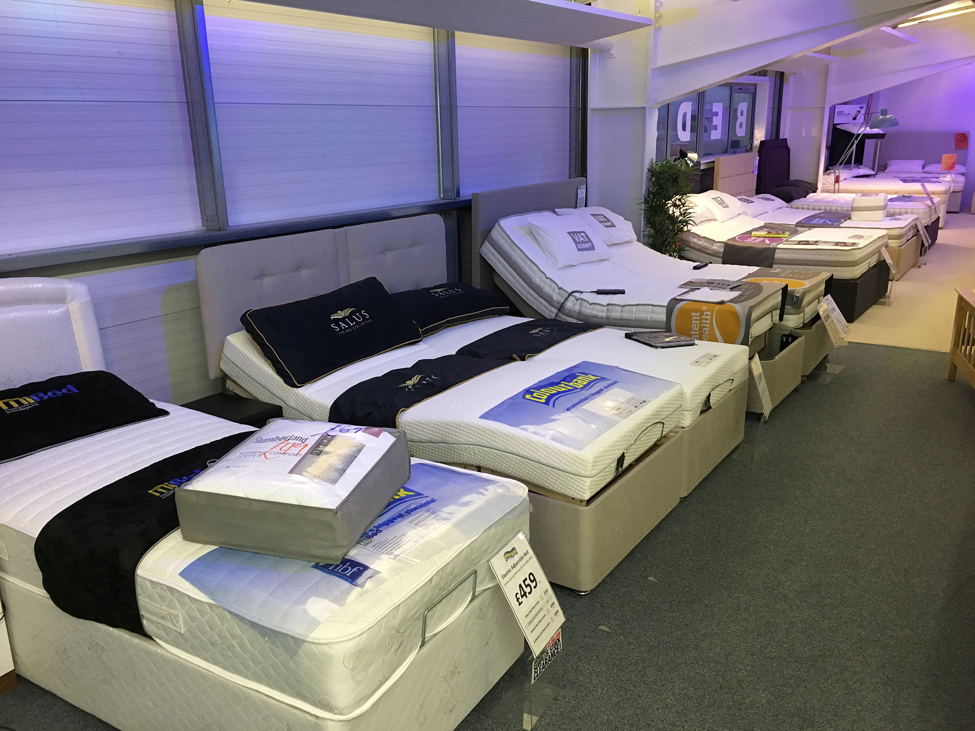 Beds Mattresses Shop In Leicester Top Selling Colourbank