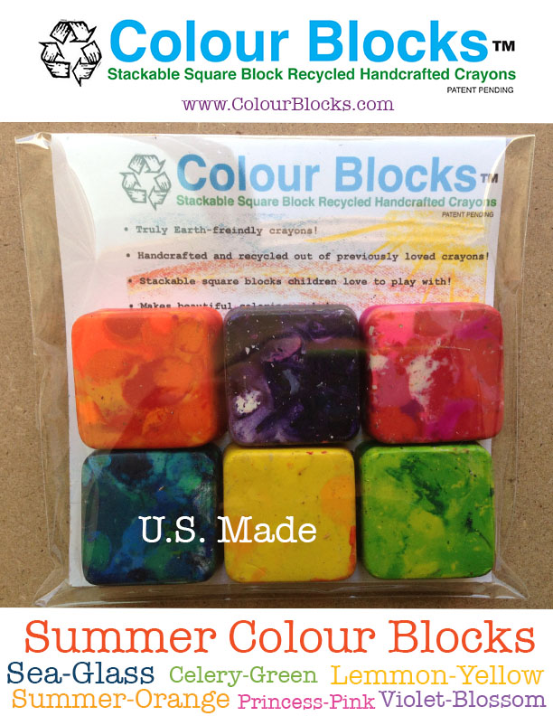Recycled Materials, Crayon Children's Product  | Earth friendly
