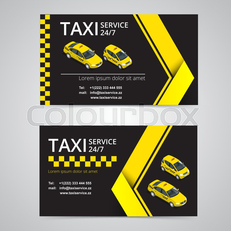 All Car Logo Wallpaper Download Taxi Card For Taxi Drivers Taxi Service Vector Business