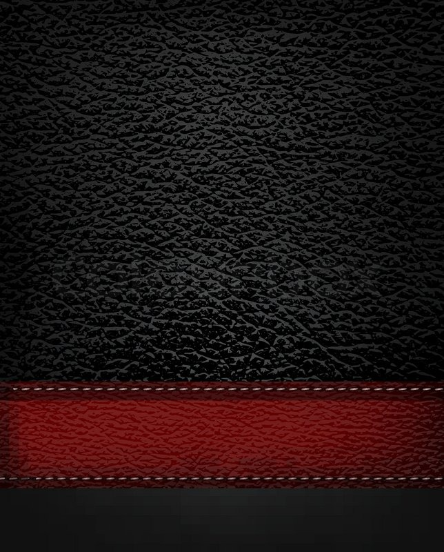Black White And Silver Striped Wallpaper Black Leather Background With Red Leather Strip Vector