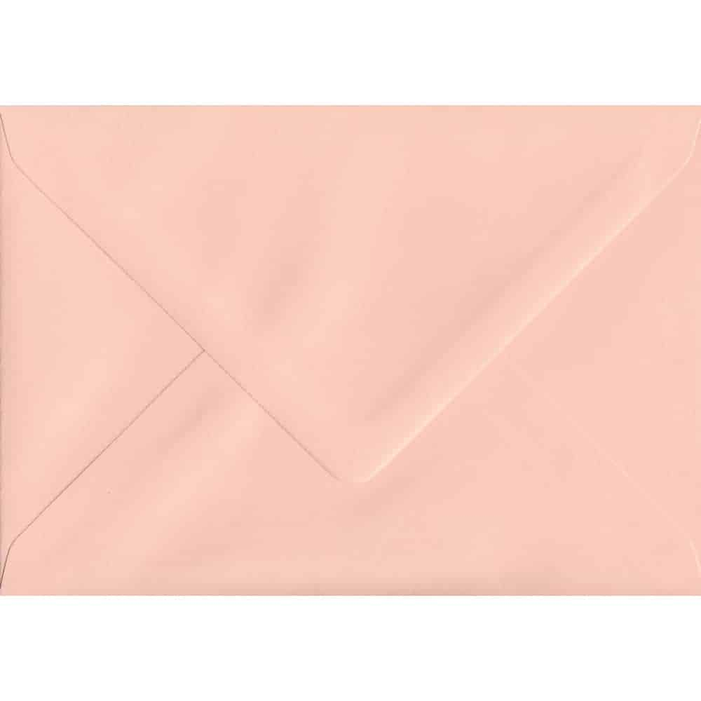 82mm x 113mm C7/A7 Salmon Top Quality Envelope Pink Envelope
