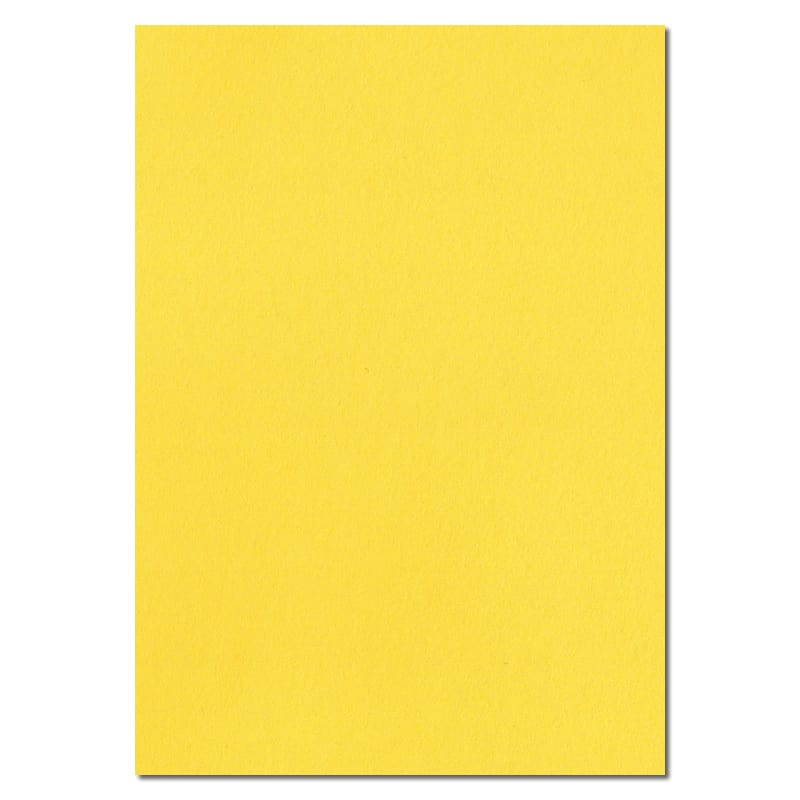 297mm x 210mm A4 Banana Yellow Extra Thick Paper Yellow A4 Paper