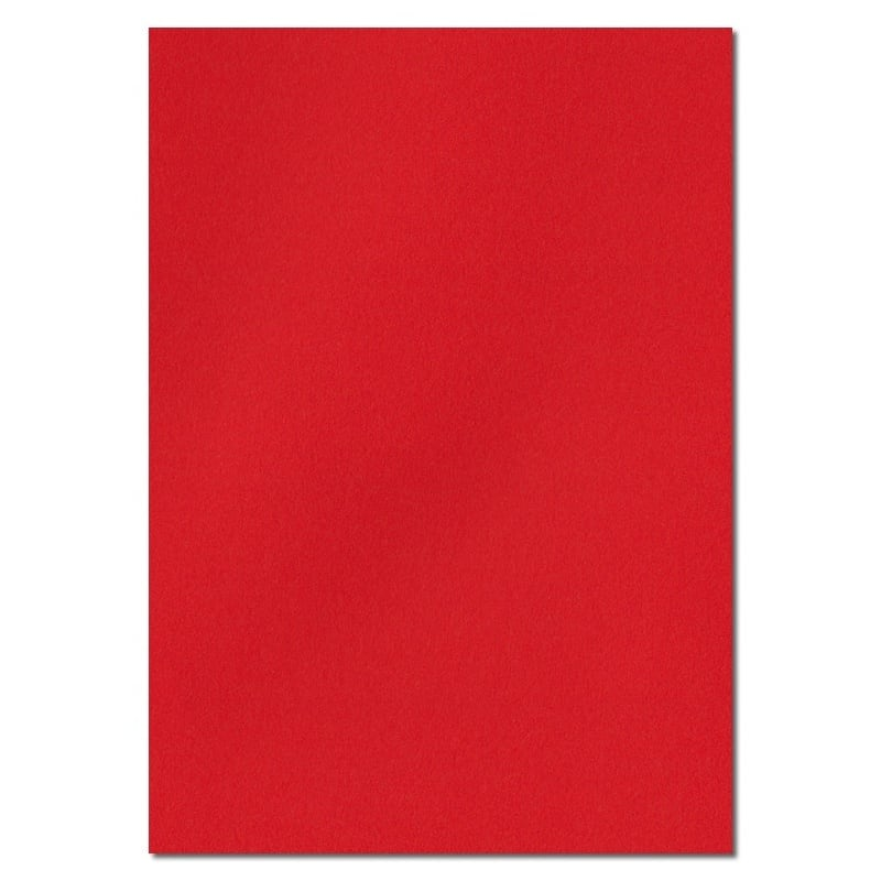 297mm x 210mm A4 Poppy Red Solid Paper Red A4 Paper Coloured Paper