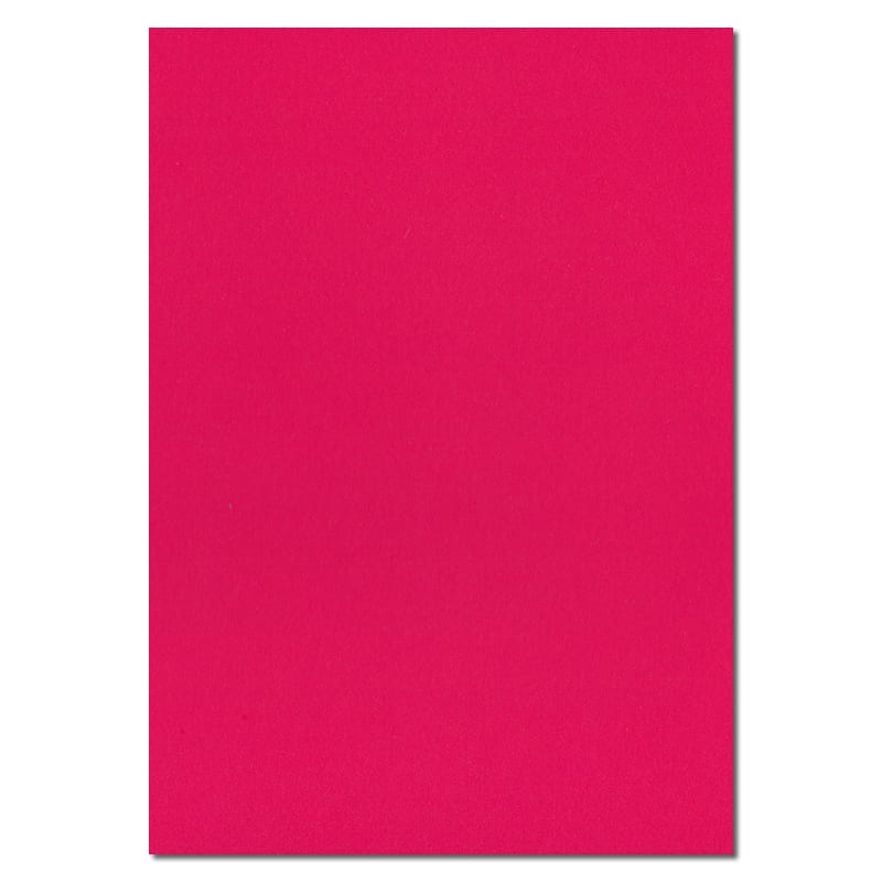 297mm x 210mm A4 Shocking Pink Extra Thick Paper Pink A4 Paper