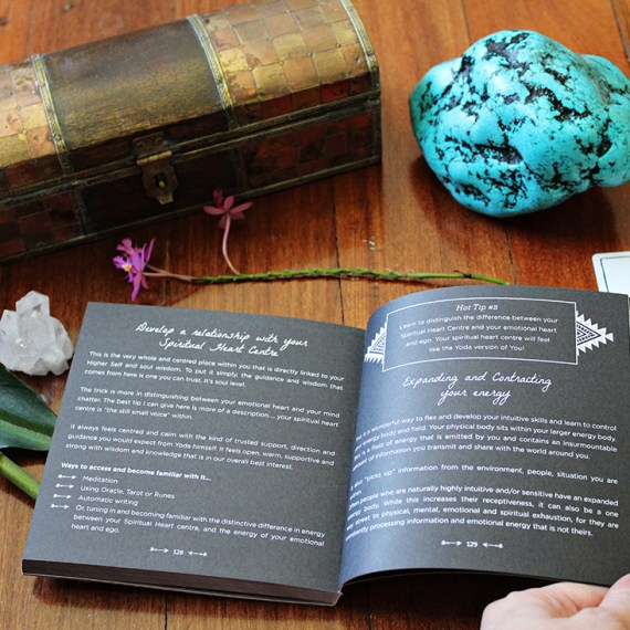 Inner Hue Connected and Free The Alchemist's Oracle cards and guidebook illustrated and designed by Colour Cult graphic design, Brisbane.