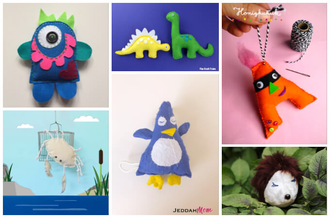 50+ Easy Free Stuffed Toy Patterns Sew a Softie 2018 Coloured Buttons