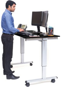 Stand Up Desk 60-inch Electric Standing Desk