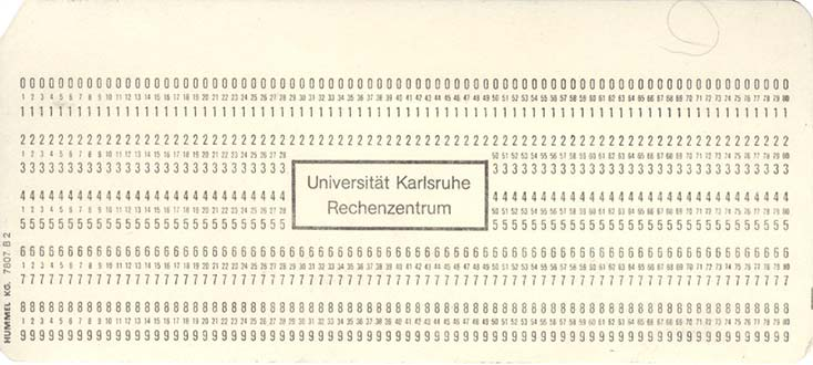 IBM Punch Cards - punch cards