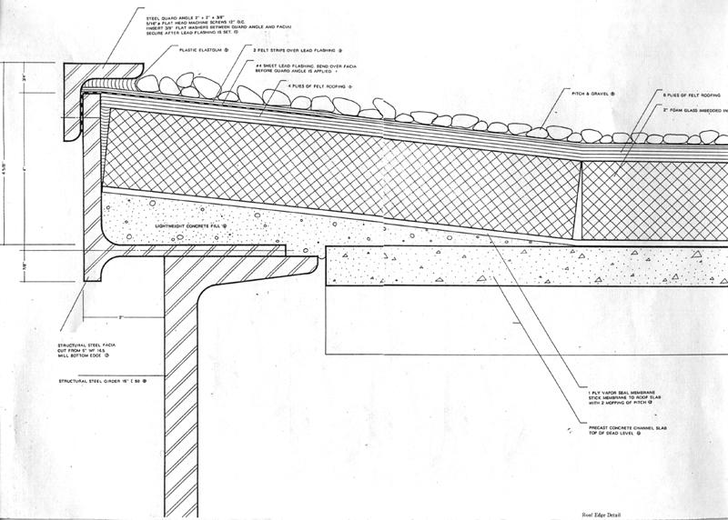 farnsworth house roof detail - Google zoeken La Pompi Pinterest