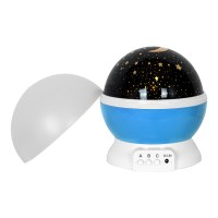 Children Bedroom Rotating Projector Starry Night Lamp Star ...