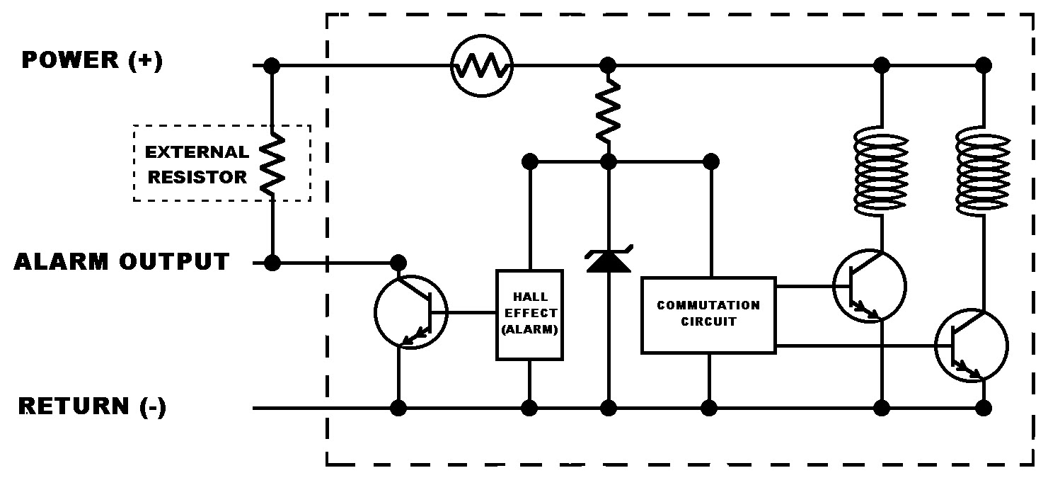 5 wire ignition switch ledningsdiagram