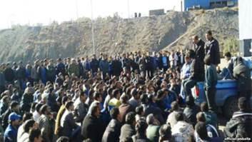 Iran - Sciopero minatori