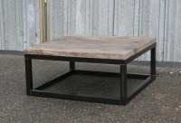 Combine 9 | Industrial Furniture  Reclaimed Wood Coffee Table