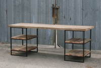 Combine 9 | Industrial Furniture  Reclaimed Wood Desk ...