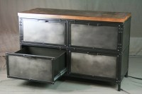 Combine 9 | Industrial Furniture  Industrial File Cabinet ...
